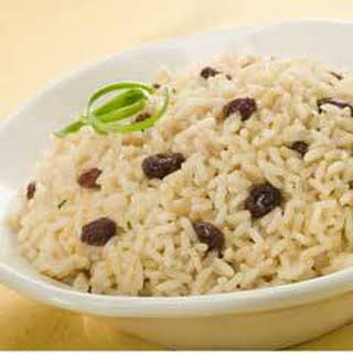Caribbean Rice Raisins Recipes.