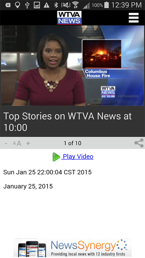 WTVA News- screenshot