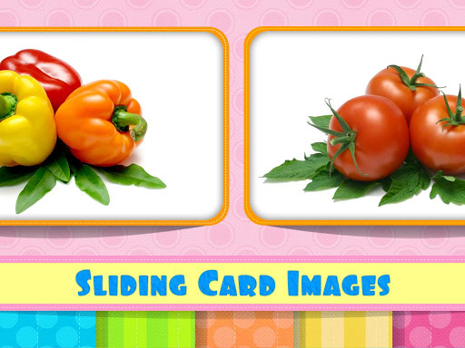 English Flash Cards-Vegetables