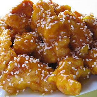 Chinese Honey Chicken.