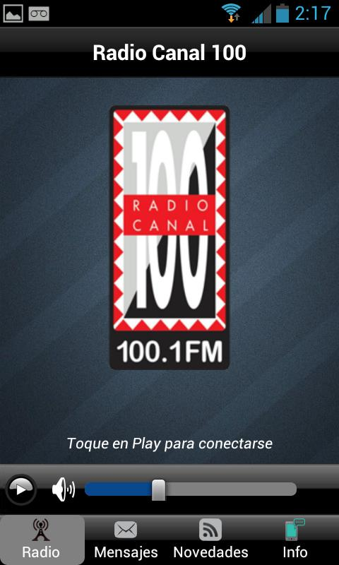 Radio Canal 100 - screenshot