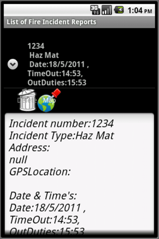 Fire Incident Report Pro - screenshot