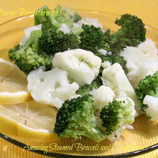 Amazing Steamed Broccoli and Cauliflower!