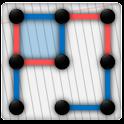 Dots 'n' Boxes / Squares logo