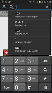 Police Scanner Radio Codes - screenshot thumbnail