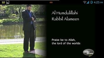 Screenshot of Learn Salah/Prayer