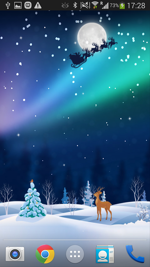 Xmas Live Wallpaper PRO - screenshot