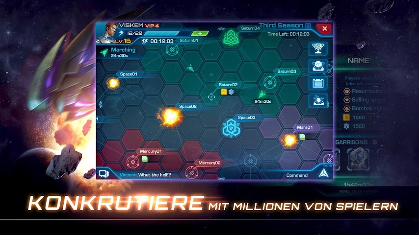 android Galaxy Legend Screenshot 4