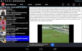 Screenshot of Sportpiacenza.it