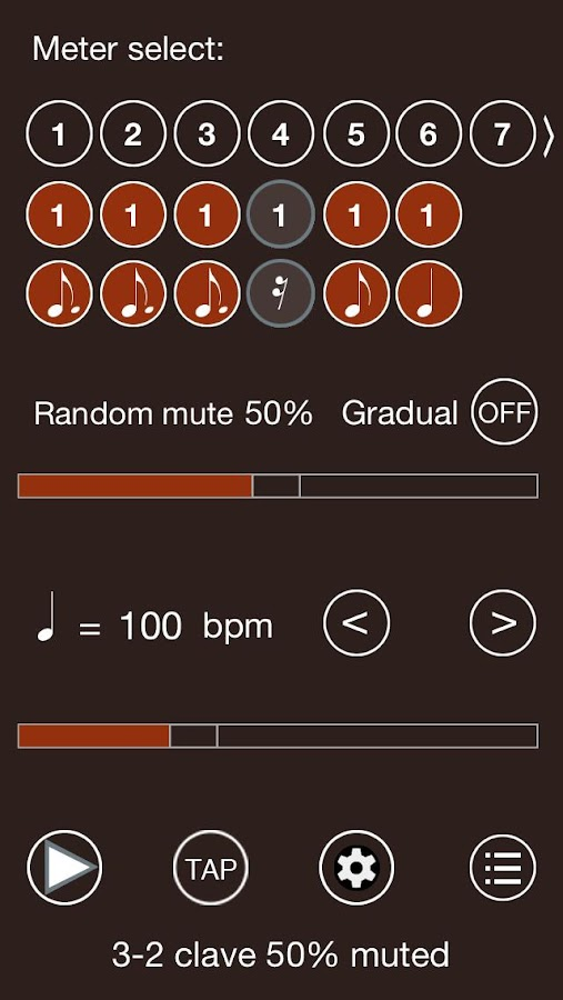 Time Guru Metronome- screenshot