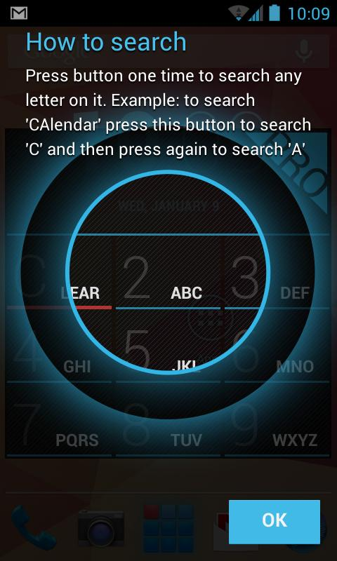 App Dialer–local T9 app search - screenshot