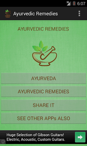 Ayurvedic Remedies