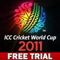 ICC Cricket WC 2011 Trial logo