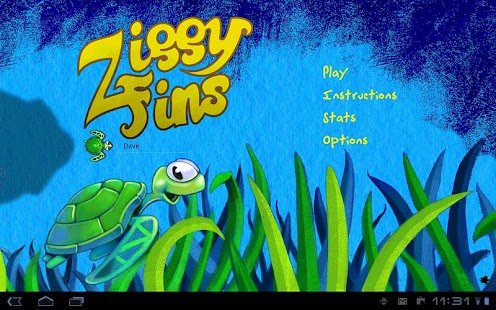 Ziggy Fins Lite - screenshot thumbnail
