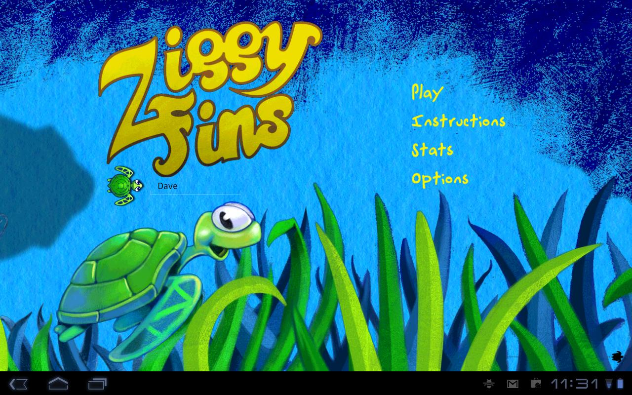 Ziggy Fins Lite - screenshot