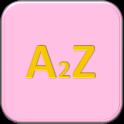 A2Z (Peach) logo