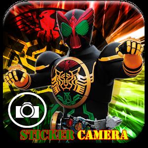 KAMEN RIDER STICKER CAM 攝影 App LOGO-APP試玩