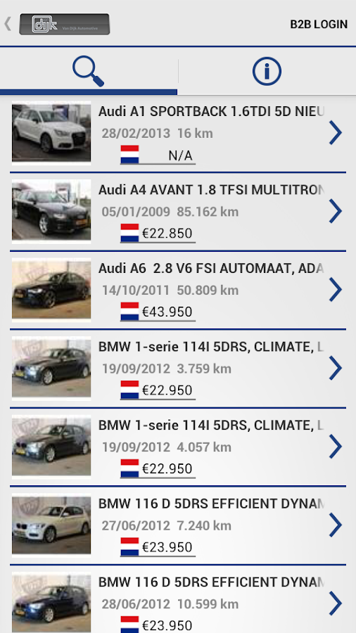 Dijk Auto- screenshot