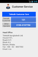 Screenshot of Teletalk Info 3G