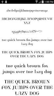 Fonts for FlipFont 50 #9- screenshot thumbnail