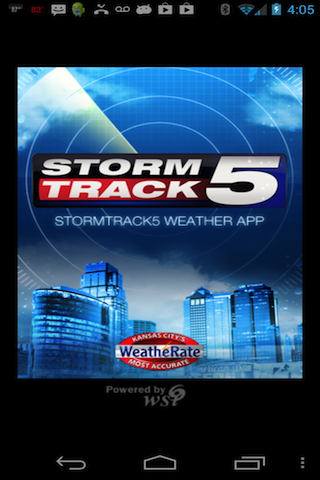 KCTV Stormtrack5 Weather - screenshot