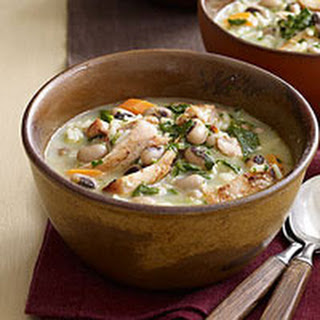 Creamy Chicken-and-Rice Soup.