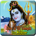 Lord Shiva 3D Temple LWP icon