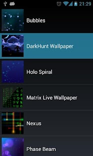 DarkHunt Live Wallpaper FREE- screenshot thumbnail