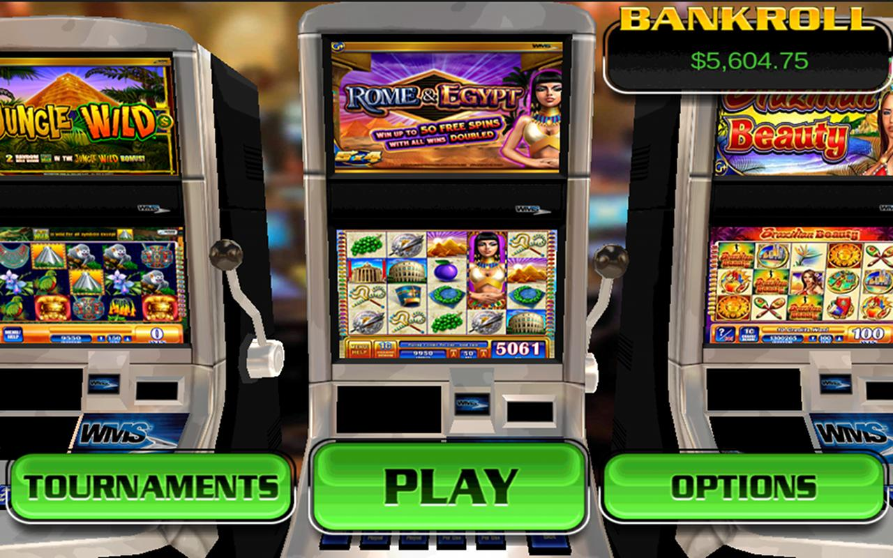 Rome and Egypt HD Slot Machine - screenshot
