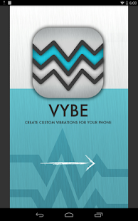 Vybe - Custom Vibrations - screenshot thumbnail