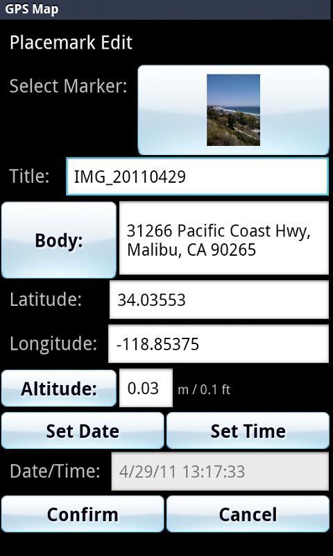 GPS Map Pro- screenshot