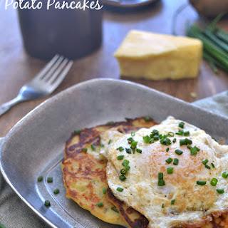 Cheesy Irish Potato Pancakes