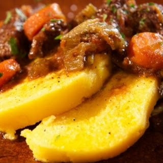 Tuscan Beef Stew with Polenta Recipe