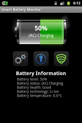 Smart Battery Monitor - screenshot
