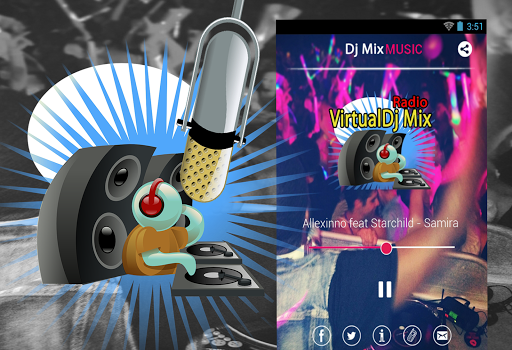 VirtualDj Mix Radio Online