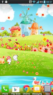 玩個人化App|春天物語動態桌布(Free)免費|APP試玩