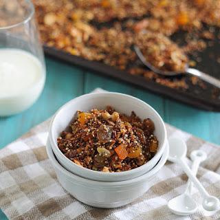Cashew Quinoa Granola