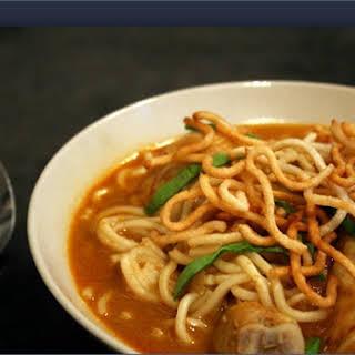 Chiang Mai Curry Noodles (Thai).