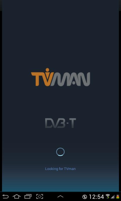 TVman DVB-T Player- screenshot