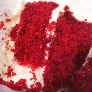 Red Velvet Cake with Cream Cheese Icing.