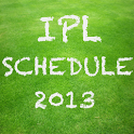 IPL Schedule 2013 icon