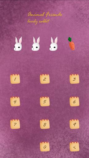 【免費個人化App】animal friends(러블리래빗)프로텍터테마-APP點子