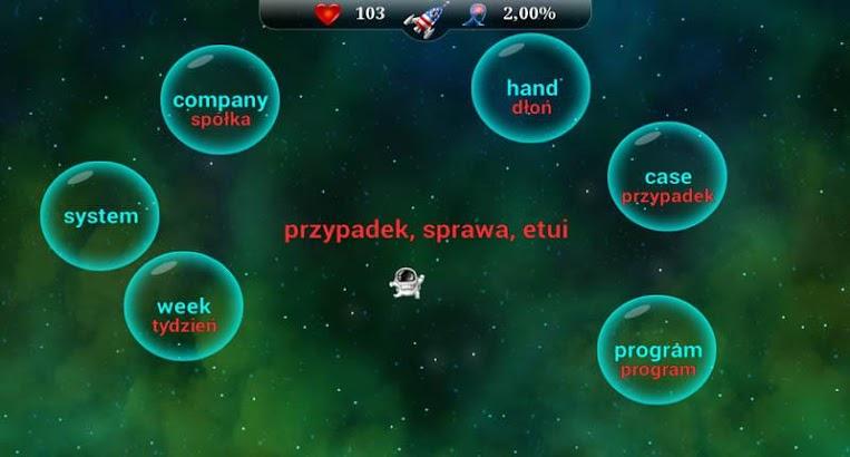 English Words for Poles- screenshot thumbnail