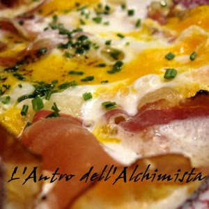 Speck with Eggs