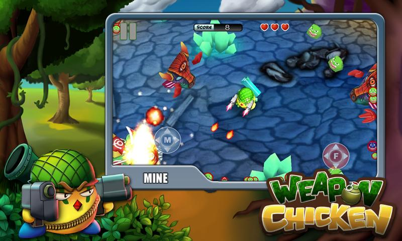 Weapon Chicken - screenshot