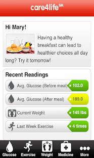 Care4life Diabetes- screenshot thumbnail