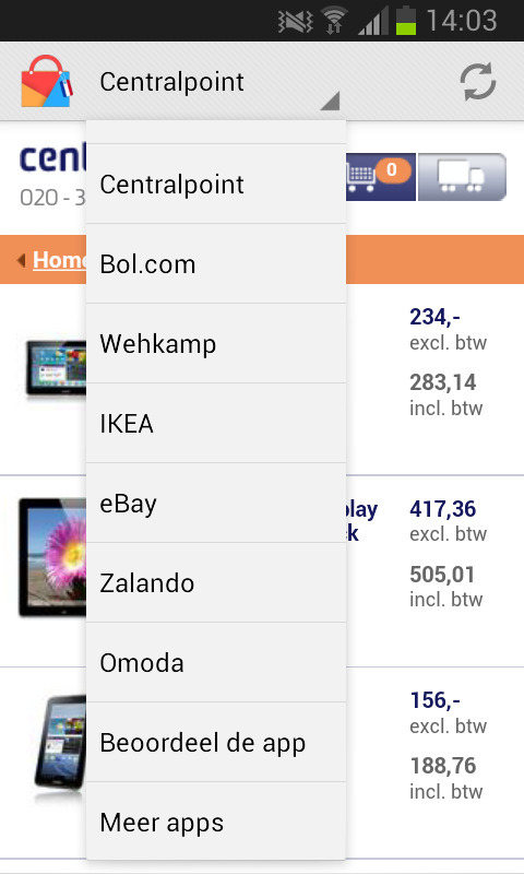 uShop: Nederland - screenshot