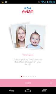 evian baby&me app - reloaded- screenshot thumbnail