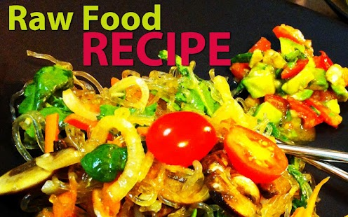 Raw Food Recipes- screenshot thumbnail