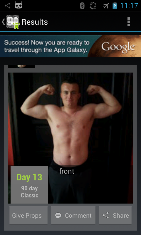 Fit XT Free (90Droid)- screenshot